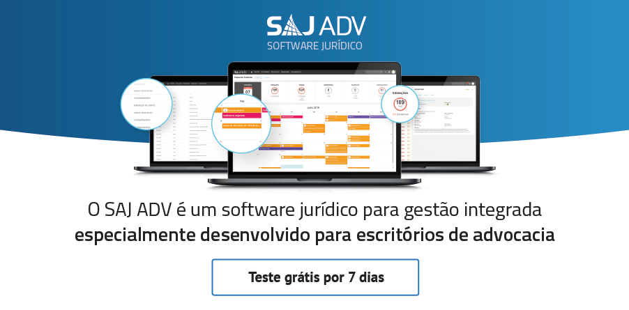 Trial SAJ ADV - Software Jurídico